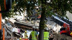 Τρία σπίτια κατέρρευσαν από έκρηξη λόγω διαρροής αερίου στην Αμβέρσα