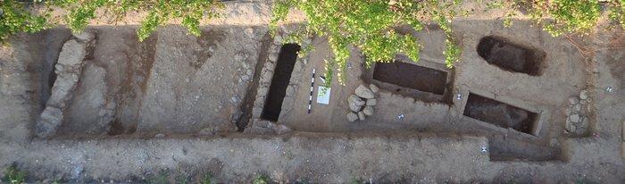 Παρόδιο νεκροταφείο στην περιοχή Μερκούρη (κλασική – πρώιμη ελληνιστική περίοδος).