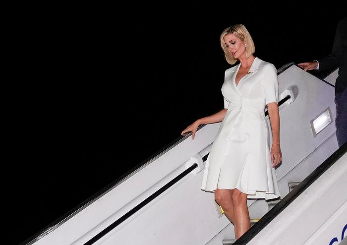 Fashion police: Το απαίσιο φόρεμα της Ιβάνκα Τραμπ «καταζητείται»...