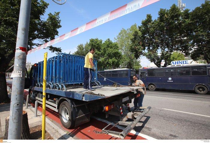 Στον δρόμο 3.500 αστυνομικοί στη ΔΕΘ-Οι κινητοποιήσεις και τα μέτρα - εικόνα 12