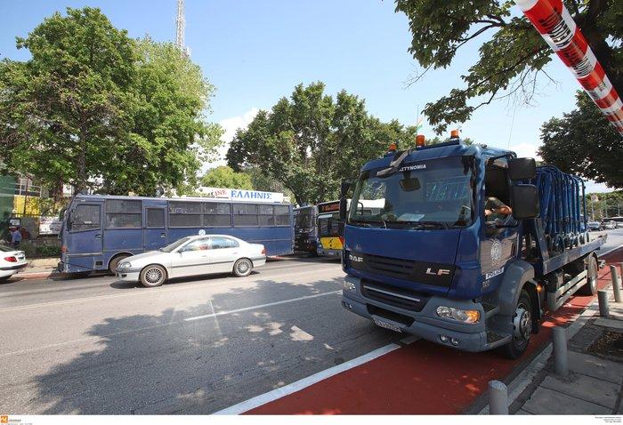 Στον δρόμο 3.500 αστυνομικοί στη ΔΕΘ-Οι κινητοποιήσεις και τα μέτρα - εικόνα 14