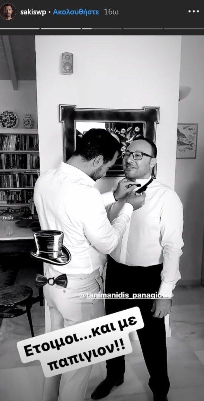 Παντρεύτηκε ο γιατρός αδελφός του Τανιμανίδη: Με λύρα & ποντιακά [φωτο] - εικόνα 2