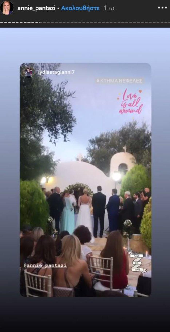 Υπέροχη νύφη η Άννη Πανταζή: Με στολισμένα στεφάνια ρυθμικής τα παρανυφάκια - εικόνα 6