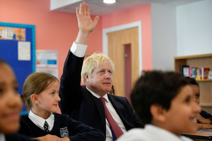 Τζόνσον σε μαθητές: Θα πετύχω μια συμφωνία για Brexit στις 31 Οκτωβρίου - εικόνα 2