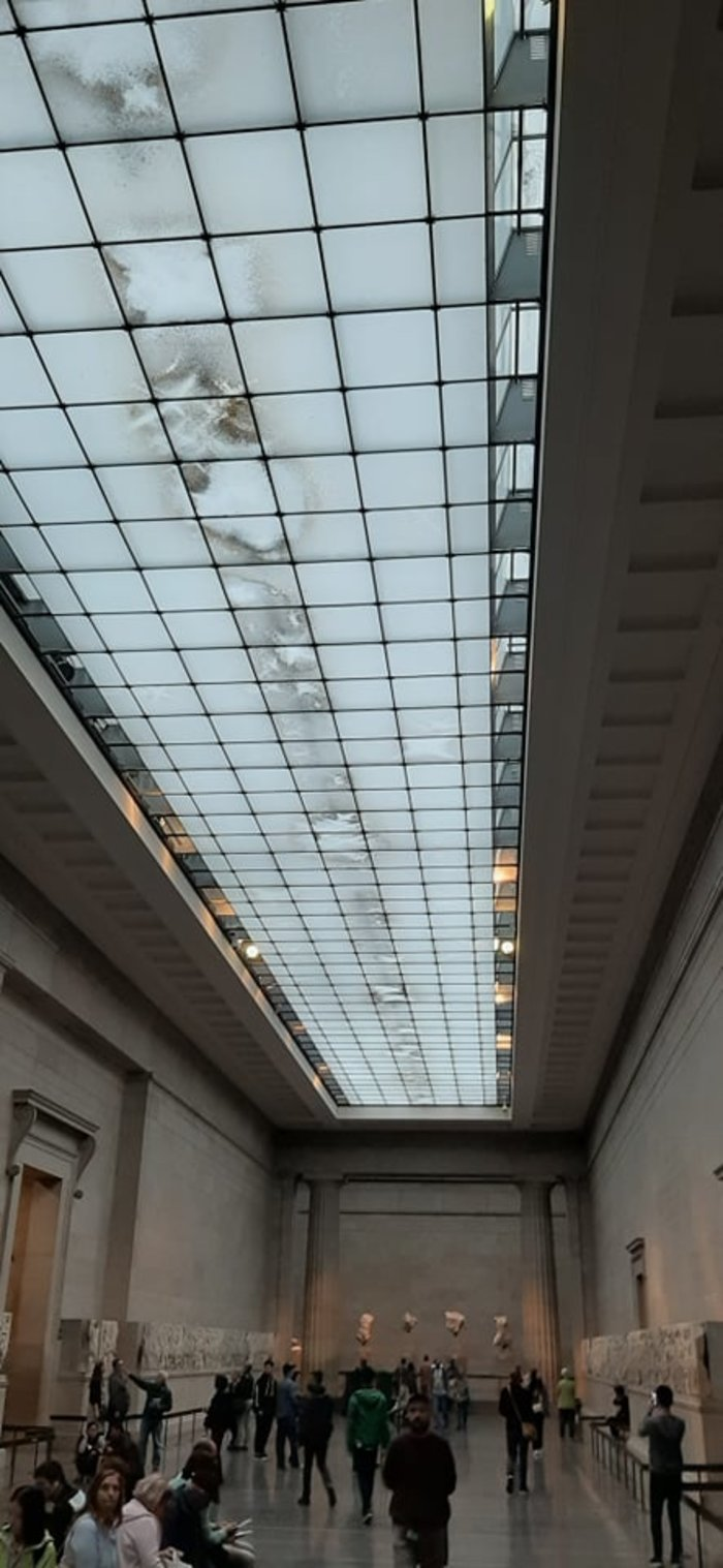 Μούχλα στην αίθουσα των γλυπτών του Παρθενώνα - αντίδραση ΥΠΠΟ - εικόνα 2