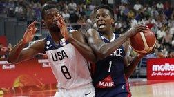 Οι Γάλλοι πέταξαν εκτός Μουντομπάσκετ την Team USA