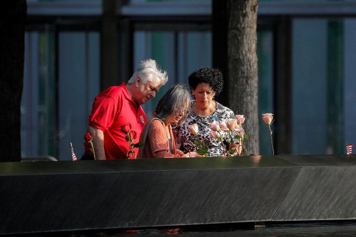 ΗΠΑ: Η Νέα Υόρκη τιμά τα θύματα της 11ης Σεπτεμβρίου, 18 χρόνια μετά - εικόνα 2