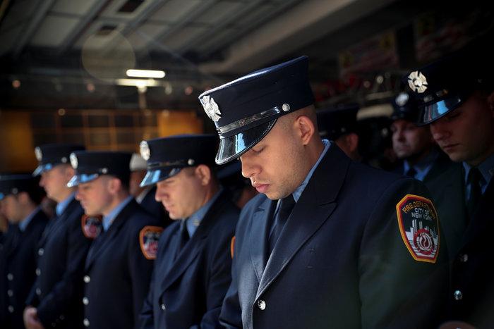 ΗΠΑ: Η Νέα Υόρκη τιμά τα θύματα της 11ης Σεπτεμβρίου, 18 χρόνια μετά - εικόνα 4