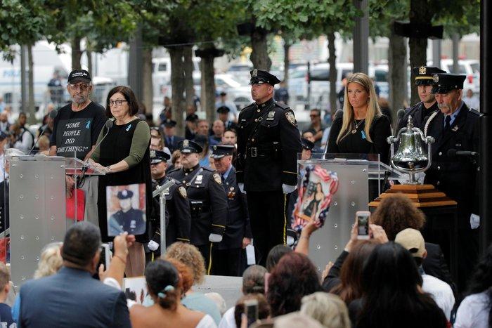 ΗΠΑ: Η Νέα Υόρκη τιμά τα θύματα της 11ης Σεπτεμβρίου, 18 χρόνια μετά - εικόνα 3
