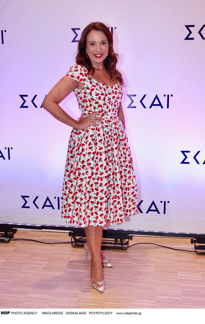 Χριστίνα Αλεξανιάν: Το υπέροχο ρομαντικό φόρεμα και οι πριγκιπικές γόβες