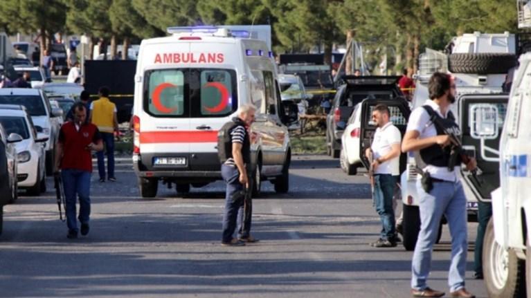 Στους 7 οι άμαχοι νεκροί από έκρηξη στην επαρχία Ντιγιάρμπακιρ