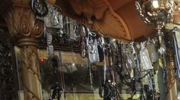 Αφαίρεσαν τάματα και σταυρούς από τη Μονή Τιμίου Προδρόμου στη Βέροια
