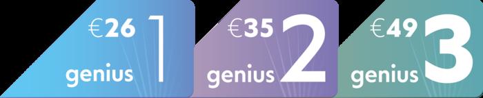 Με τα πακέτα Genius ξέρεις από πριν πόσο ρεύμα θα πληρώνεις κάθε μήνα