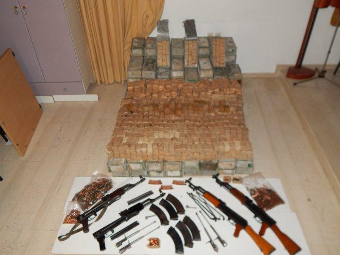 Κύκλωμα εμπορίας όπλων και πυρομαχικών στην Κρήτη