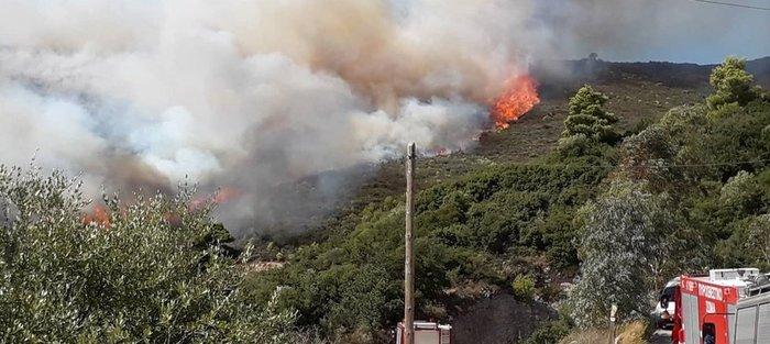 Ζάκυνθος: Στο Κερί η φωτιά - Εκκενώνονται σπίτια - εικόνα 2