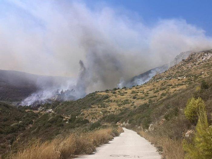 Ζάκυνθος: Στο Κερί η φωτιά - Εκκενώνονται σπίτια - εικόνα 3