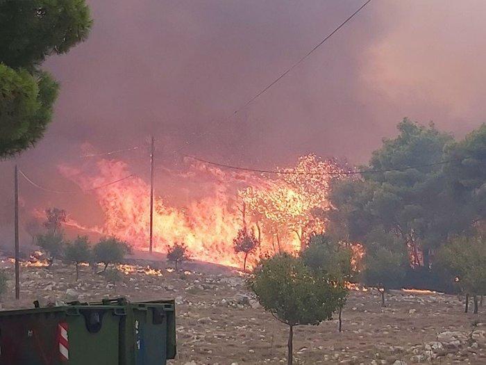 Ζάκυνθος: Εκτός ελέγχου η φωτιά - Εκκενώνονται τα χωριά Αγαλάς και Κερί - εικόνα 2
