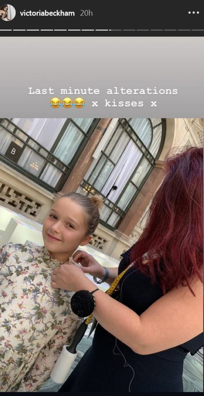 Χάρπερ Μπέκαμ: Fashionista ετών 8 - Την έντυσαν μικρογραφία μοντέλου - εικόνα 3
