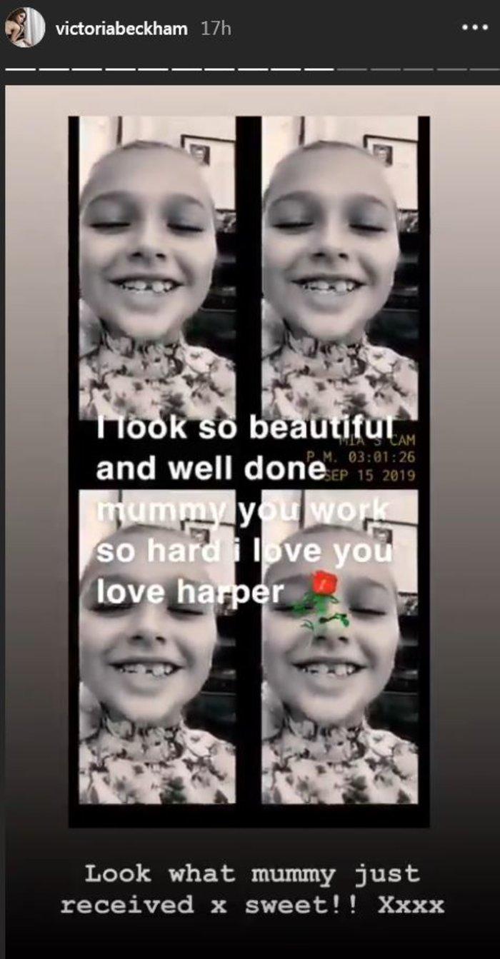 Χάρπερ Μπέκαμ: Fashionista ετών 8 - Την έντυσαν μικρογραφία μοντέλου - εικόνα 4