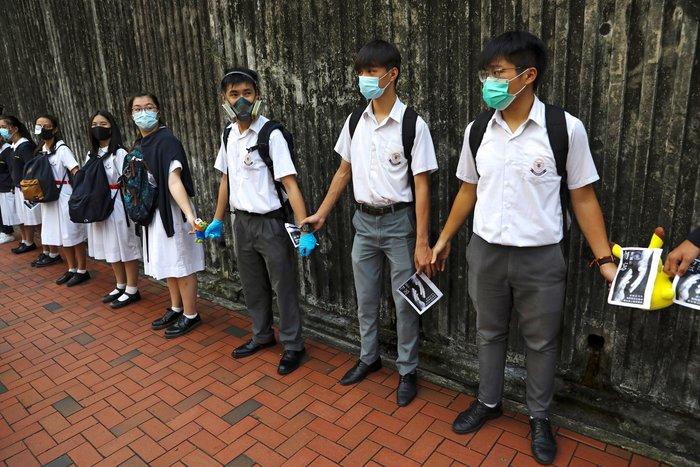 Χονγκ Κονγκ: Οι εκατό μέρες κινητοποίησης & η εφευρετικότητα - εικόνα 5