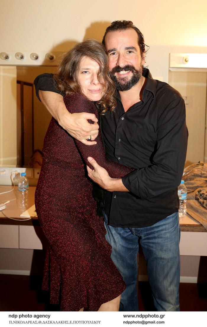 Τάσος Νούσιας: Η σπάνια εμφάνιση με την ταλαντούχα σύζυγο & την κόρη τους - εικόνα 3