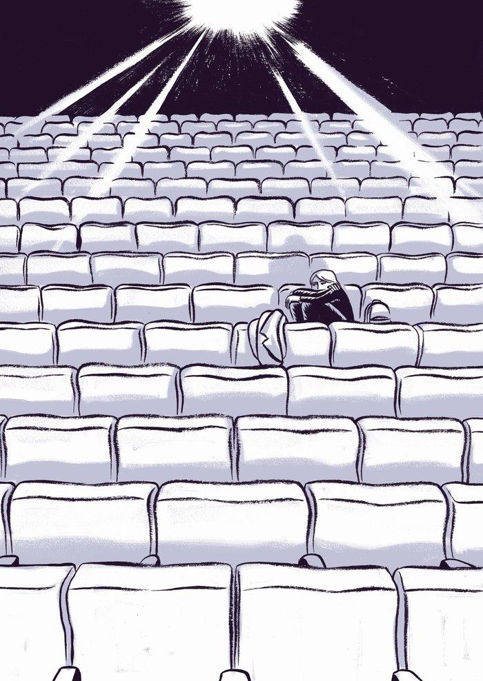 Ένα υπέροχο κόμικ για το Φεστιβάλ Κινηματογράφου Θεσσαλονίκης - εικόνα 2