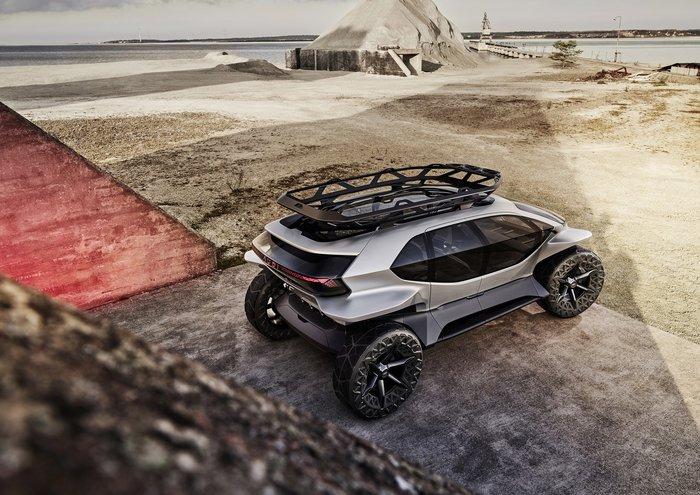 Audi AI:TRAIL quattro: To off-roading στο μέλλον θα θυμίζει StarWars