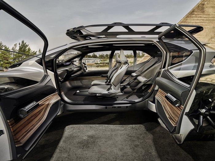 Audi AI:TRAIL quattro: To off-roading στο μέλλον θα θυμίζει StarWars - εικόνα 3