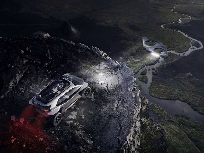 Audi AI:TRAIL quattro: To off-roading στο μέλλον θα θυμίζει StarWars - εικόνα 4