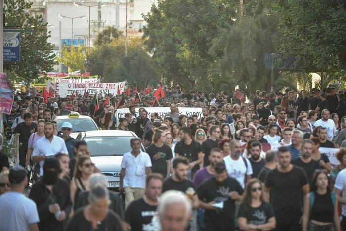 Πορεία στο Κερατσίνι για τα 6 χρόνια από την δολοφονία Φύσσα - εικόνα 7