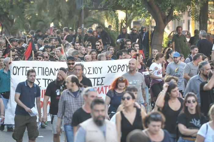 Πορεία στο Κερατσίνι για τα 6 χρόνια από την δολοφονία Φύσσα - εικόνα 9