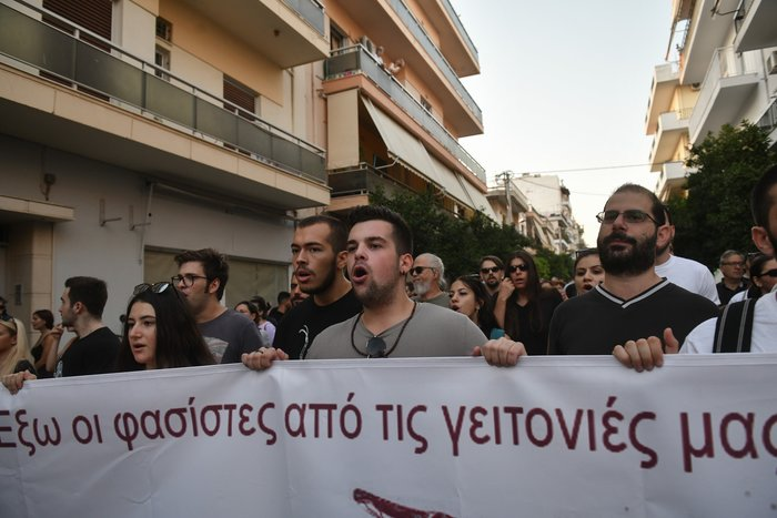Πορεία στο Κερατσίνι για τα 6 χρόνια από την δολοφονία Φύσσα - εικόνα 4