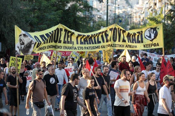 Πορεία στο Κερατσίνι για τα 6 χρόνια από την δολοφονία Φύσσα - εικόνα 8