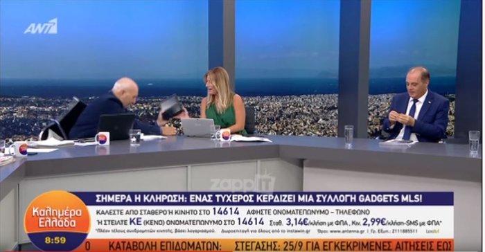 Σοκ στον ANT1: Σωριάστηκε ο Παπαδάκης στον αέρα της εκπομπής του [Βίντεο]