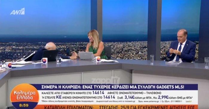 Σοκ στον ANT1: Σωριάστηκε ο Παπαδάκης στον αέρα της εκπομπής του [Βίντεο] - εικόνα 2