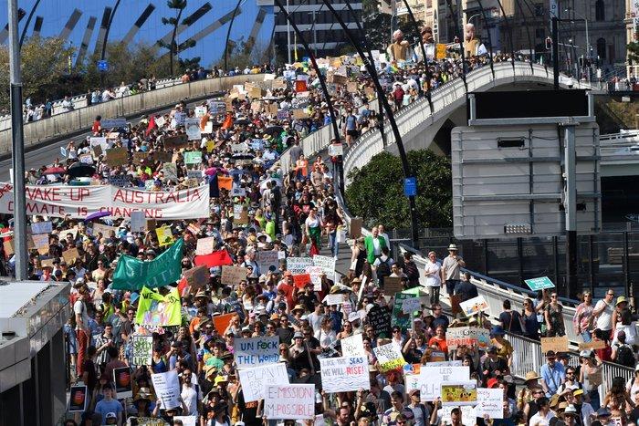 H Generation Next διαδηλώνει για το κλίμα σε όλο τον κόσμο - εικόνα 6