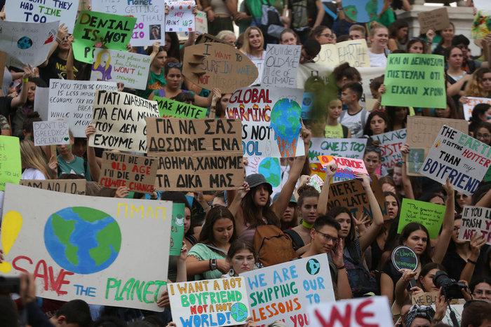 H Generation Next διαδηλώνει για το κλίμα σε όλο τον κόσμο - εικόνα 3