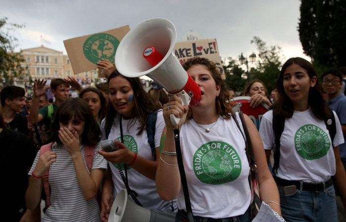 H Generation Next διαδηλώνει για το κλίμα σε όλο τον κόσμο - εικόνα 2