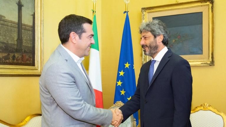 sunantisi-tsipra-me-ton-proedro-tou-italikou-koinobouliou-roberto-fico