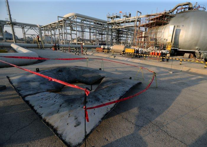 Το Ριάντ δείχνει τις κατεστραμμένες πετρελαϊκές εγκαταστάσεις - εικόνα 2