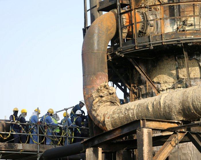 Το Ριάντ δείχνει τις κατεστραμμένες πετρελαϊκές εγκαταστάσεις - εικόνα 3