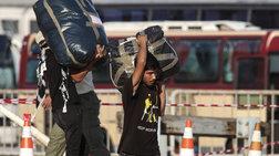 Κορινθος: Αντιπροσωπεία ΣΥΡΙΖΑ στο στρατόπεδο που μεταφέρθηκαν πρόσφυγες