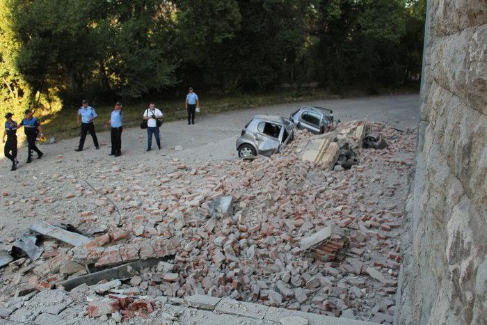 Δεκάδες τραυματίες από τους σεισμούς στην Αλβανία (βίντεο)
