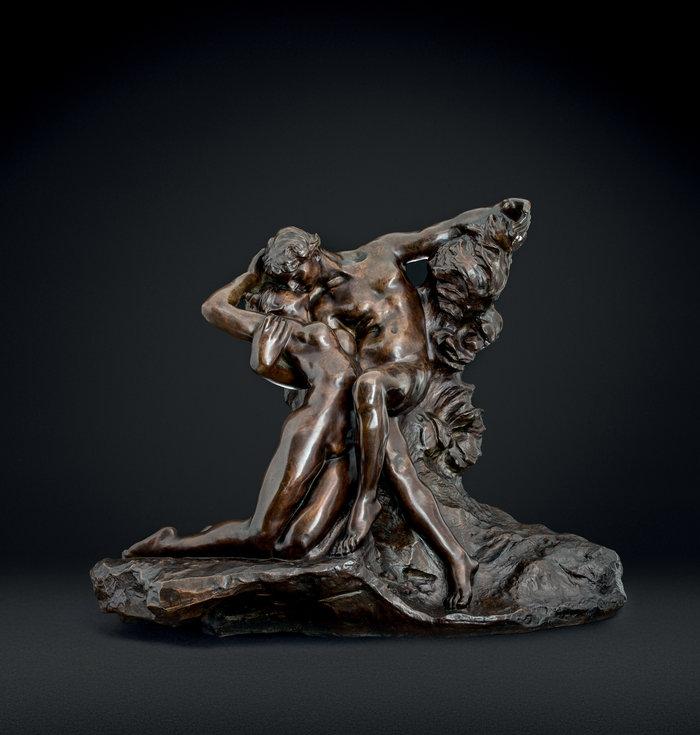 Auguste Rodin(1840-1917)L'éternel printempsΗ αιώνια άνοιξηEternal Springtime1884Μπρούντζος με καφέ πατίνα | Bronze with brown patina66 × 83 × 42 cm