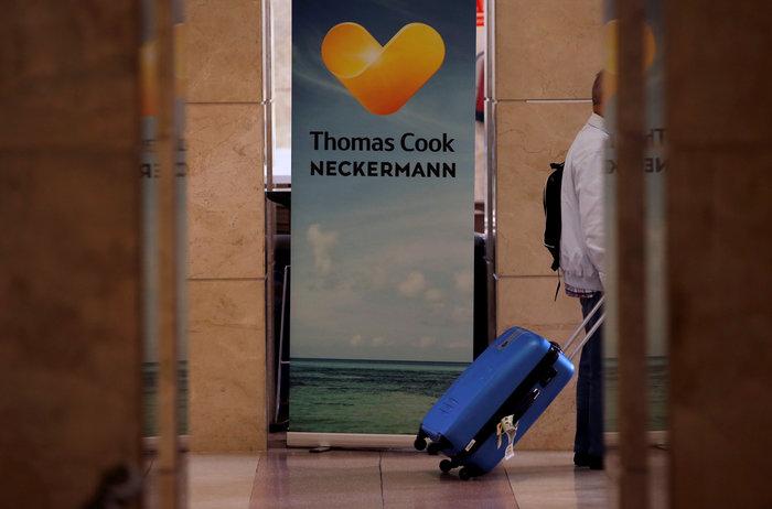 Χρεοκοπία Thomas Cook: Πάνω από 500 εκ.€ κόστος για τον ελληνικό τουρισμό