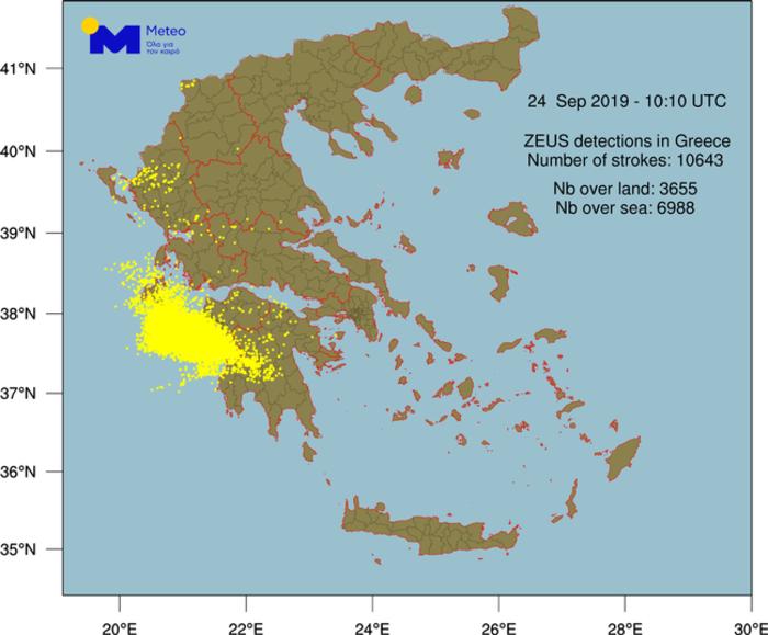 Ισχυρές καταιγίδες στη Δυτ. Ελλάδα-2 νεκροί από κεραυνό