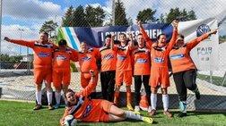 Η ξεχωριστή Star League κέρδισε το βραβείο UEFA Grassroots