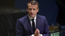 Μακρόν: «Η Γαλλία δεν μπορεί να υποδεχθεί όλο τον κόσμο»