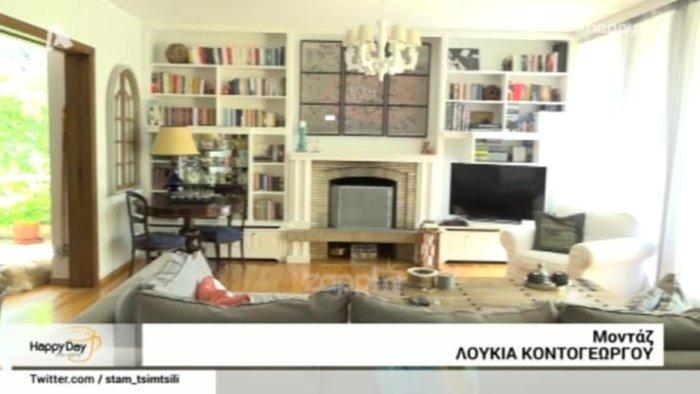 Έφη Αλεβίζου: Αυτό είναι το εντυπωσιακό σπίτι της παρουσιάστριας του Alpha