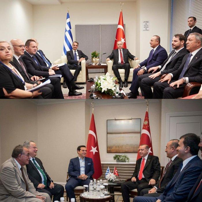 Κόντρα για την «έλλειψη προετοιμασίας» στη συνάντηση Μητσοτάκη-Ερντογάν